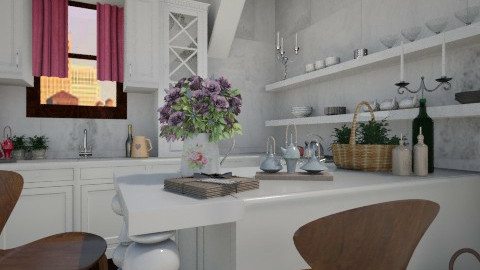 Fleurs de Paris - Kitchen - by Paper Flower