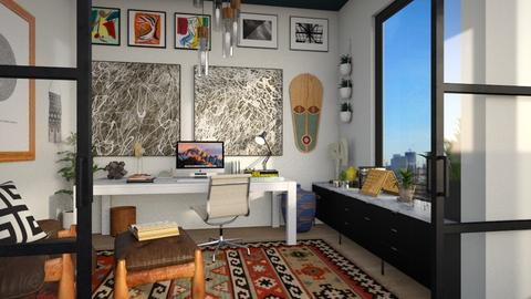 Eclectic Modern Office - Office - by lauren_murphy