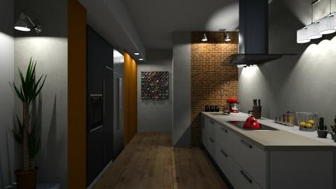 Cozinha Moderna - by Sanare Sousa
