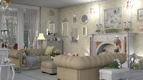 Shabby - Living room - by LuzMa HL