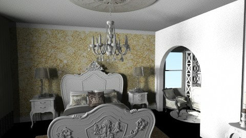 Baroque - Modern - Bedroom - by champorado