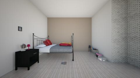 University room - Bedroom - by maraniach