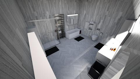 Master Bathroom - Modern - Bathroom - by Fe4r_Me
