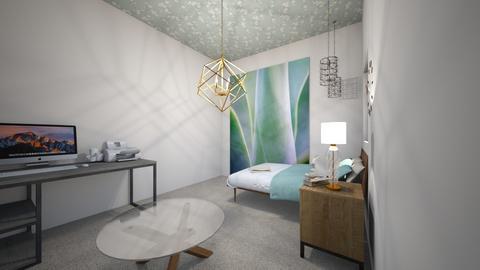 peace room - Bedroom - by yuliana1296