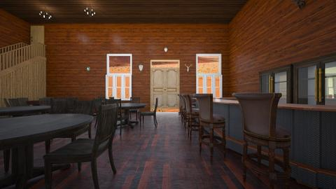Old West Saloon - by SammyJPili