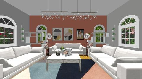 Wow jorje iM SO DEAD - Living room - by Sheila olivera