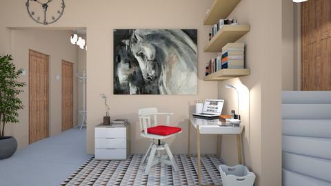 Work corner - Office - by agapka