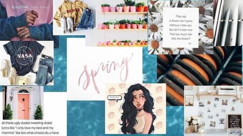 Spring 2018  - by haley_hh