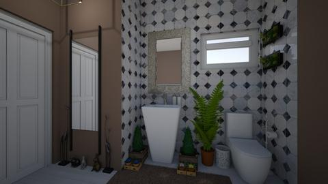 guest bathroom 2 - Bathroom - by GeGe Kanthip