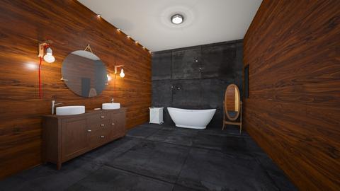 ciemna - Bathroom - by xoisiaxo
