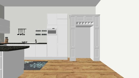 Fit for a cook - Modern - Kitchen - by Morgan Brueckner