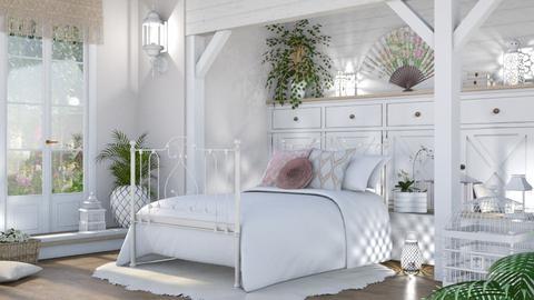 shabby chic sleep - Bedroom - by LB1981