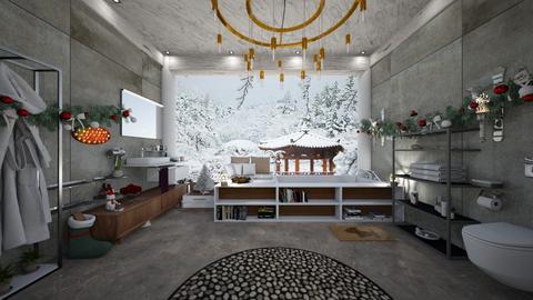 XMas Bath - Bathroom - by slyteryn oliver