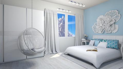 SNOW  - Bedroom - by sillvie
