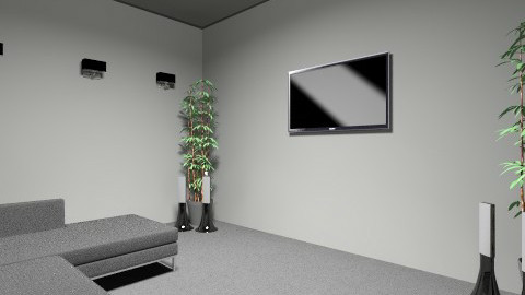 cinema room - by DYLAN NEWTON
