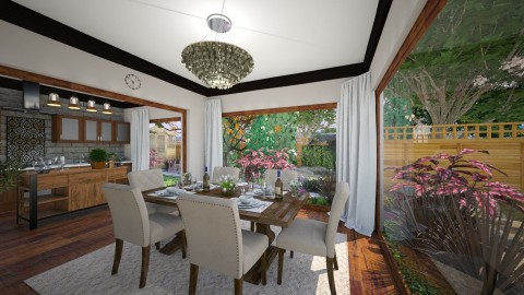 Modern and classic mix - Dining room - by michalbank11