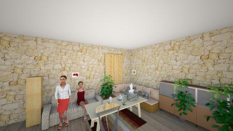 mon ptit salon - Living room - by StarFunny