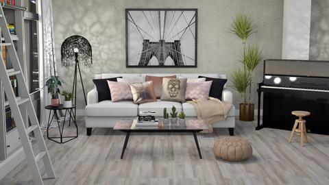 Citizen OAK - Living room - by ScillaSiberica