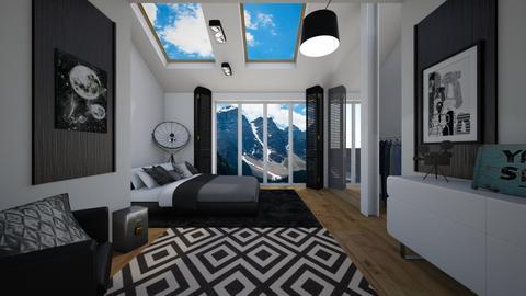 n1 - Bedroom - by 80monkey