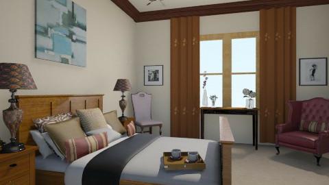 Mark Carstensen Bedroom - Vintage - Bedroom - by Iggy0529