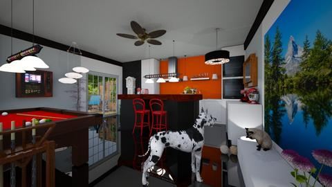 Kitch n bar - Eclectic - Kitchen - by Orionaute