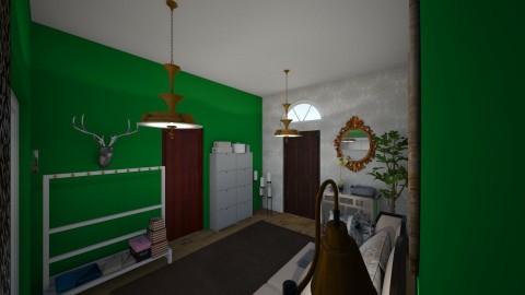 Hallway - by Leachen99