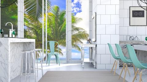 Fresh Beachy Kitchen - by millerfam