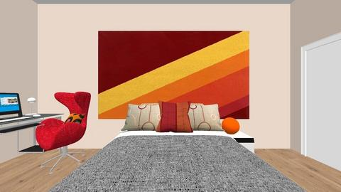 Retro Bedroom - Retro - Bedroom - by baking_potatoes