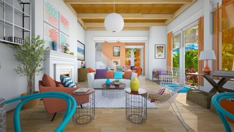 Caribbean summer - Modern - Living room - by pachecosilv