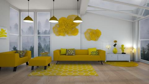 yellow - Living room - by penelopy