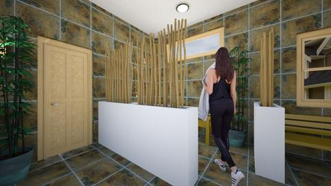 Bamboo Bathroom - Bathroom - by SammyJPili