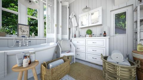 Bathroom privileges - Vintage - Bathroom - by Leyvna