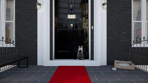 Downing Street  - by Mum Dali