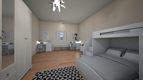 roommates - Bedroom - by AfroditeGoldie