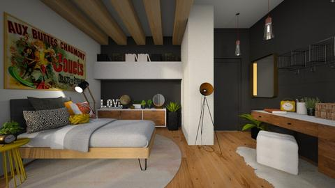teenager 2 - Bedroom - by MiaM