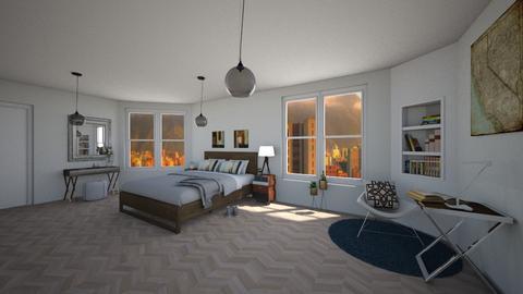 Haring Oak at dawn - Living room - by antonieta123