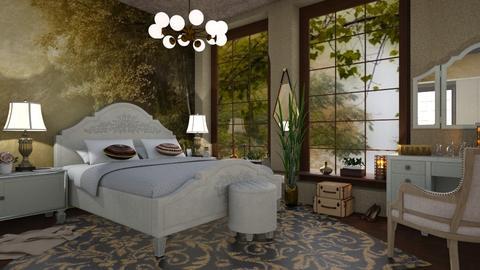 M_ Mural br - Bedroom - by milyca8