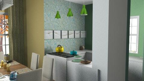 kitchen - Vintage - Kitchen - by Rainbowchick