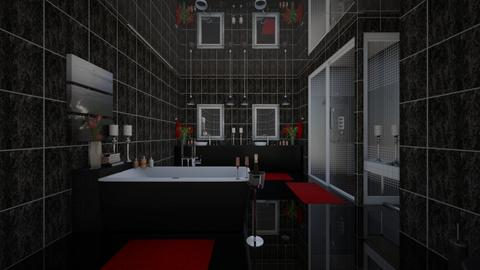 dark bath - by Interiors by Laura