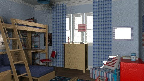 Argyl house young boys room - Classic - Bedroom - by alleypea