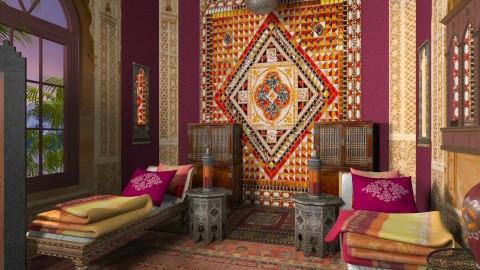 morrocan bed - Eclectic - by chania