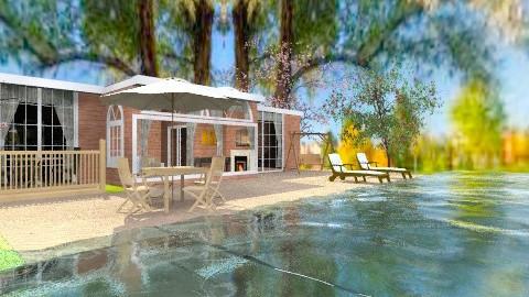 house on the lake - Modern - Garden - by lamzoi