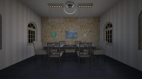 Dining Room p1 - by Isa_Snowy_Owl