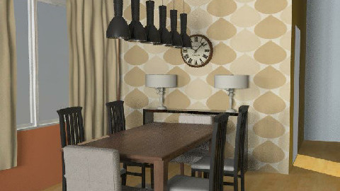 Whitehurst Dining 4 - Dining Room - by KimmyRa