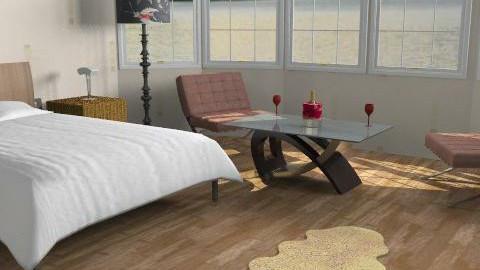 bedroom1 - Modern - Bedroom - by dmcarrington