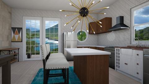 Nautical Kitchen - Modern - Kitchen - by XqveenXlove