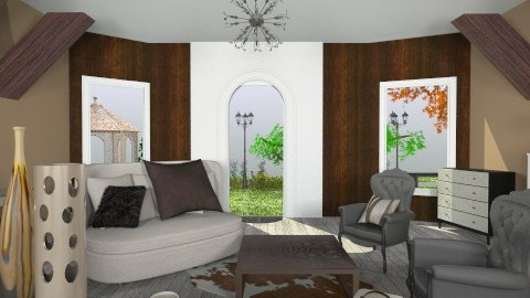 Brown living - Country - Living room - by Noella Louisy