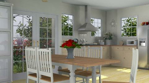 Country Kitchen - Country - Kitchen - by deleted_1519128424_HeatherInWonderl