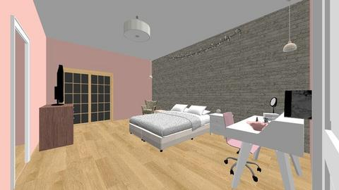 Jaylyns Bedroom - Glamour - Bedroom - by jaylynhowell