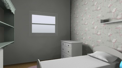 Twins option 1 - Kids room - by gaylefirmin